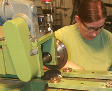 Machine fabrication de brosses
